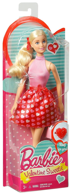 amazoncom barbie valentine sweetie doll toys games