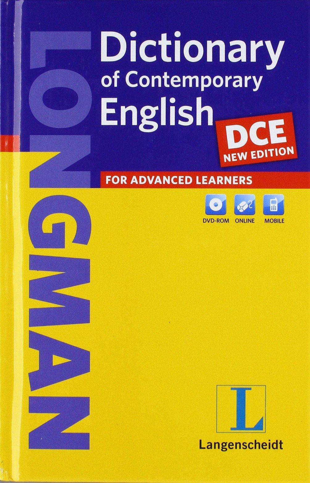 73cfc7f8d40d53 Longman Dictionary of Contemporary English DCE - New Edition - Buch  Hardcover mit DVD-ROM Einsprachige Wörterbücher  Amazon.de  Bücher