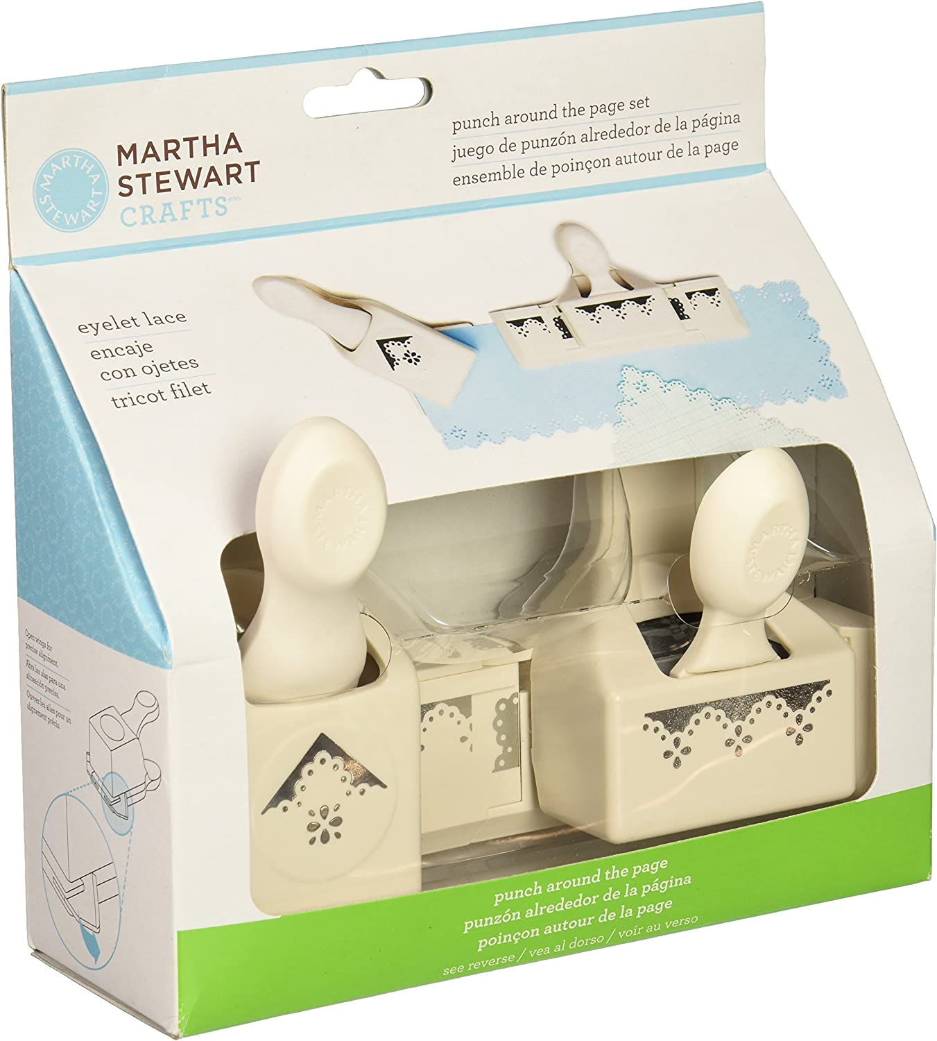 Martha Stewart Crafts Large Double Paper Punch Butterfly Lace