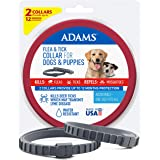 Adams Flea and Tick Collar for Dogs & Puppies 2 Pack