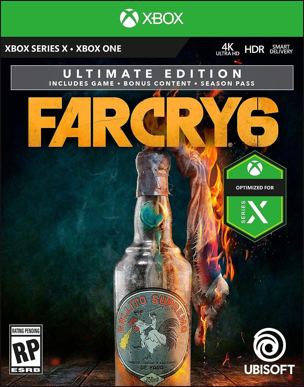 Amazon Com Far Cry 6 Ultimate Xbox One Digital Code Video Games