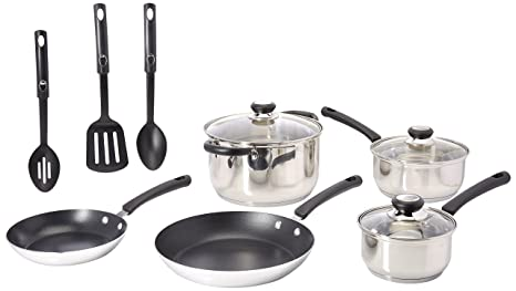 Amazon.com: Tramontina 12-Piece Everyday acero inoxidable ...