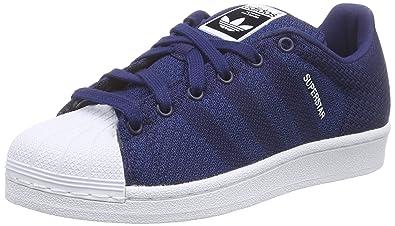 pretty nice ed50d 95b5d adidas Superstar Weave, Unisex Adults  Trainers, Blue (Dark Blue Dark Blue