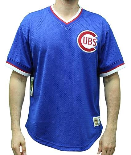 new concept 5fdaf 33018 Mitchell & Ness Chicago Cubs MLB Men's Game Winner Mesh Jersey Shirt