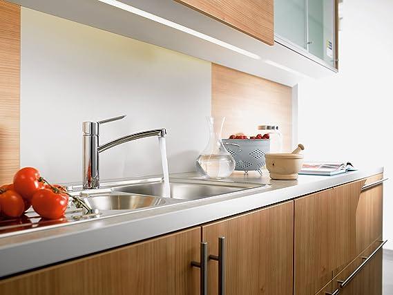 Hansgrohe focus s einhebel küchenmischer komfort höhe 155mm mit schwenkauslauf chrom amazon de baumarkt