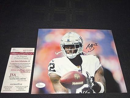 835bf73b5 Martavis Bryant Oakland Raiders Autographed Signed 8x10 Photo - JSA  Authentic Memorabilia Witness Wp816441 Free S H