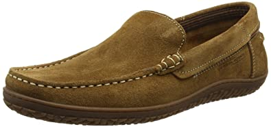 487f5bddfa4 camel active St. Tropez 11, Men's Loafers, Brown (Brandy Oil Suede ...
