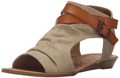 1b4105f834cf7 Blowfish Women s Balla Wedge Sandal  Blowfish  Amazon.ca  Shoes ...