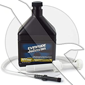 Evinrude ETEC Johnson OMC HPF Pro Gearcase Lube and Pump Kit Outboard Sterndrive