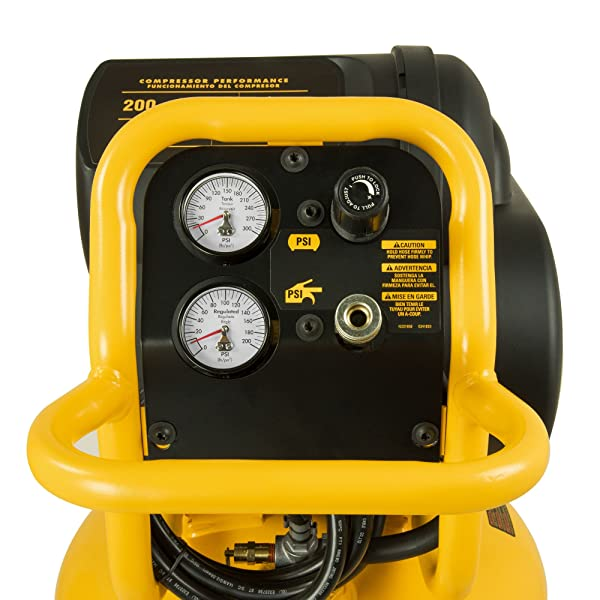 The highly reliable unit provides 200psi which is enough to finish your domestic task