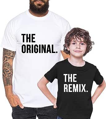 Tee Kiki Original Remix - Camiseta de Pareja Padre Hijo niño ...