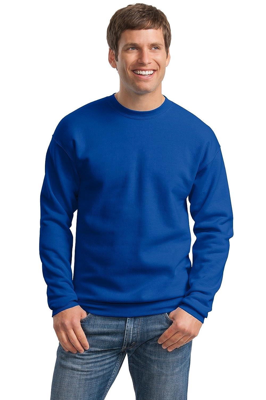 Hanes Mens ComfortBlend EcoSmart Crewneck Sweatshirt, L, Deep Royal P160