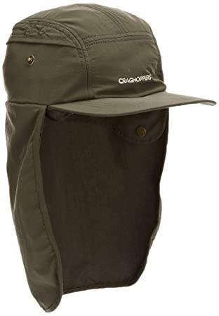 316eb18bb4d Buy CRAGHOPPERS Nosilife Desert Hat - Color Khaki - Size S   M Online at Low  Prices in India - Amazon.in