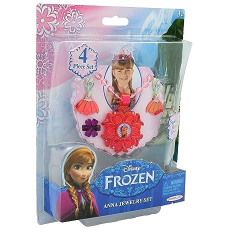 cerca il meglio modelli di grande varietà negozio del Regno Unito Disney- Frozen Gioielli Bambina Collana Orecchini Anello per ...