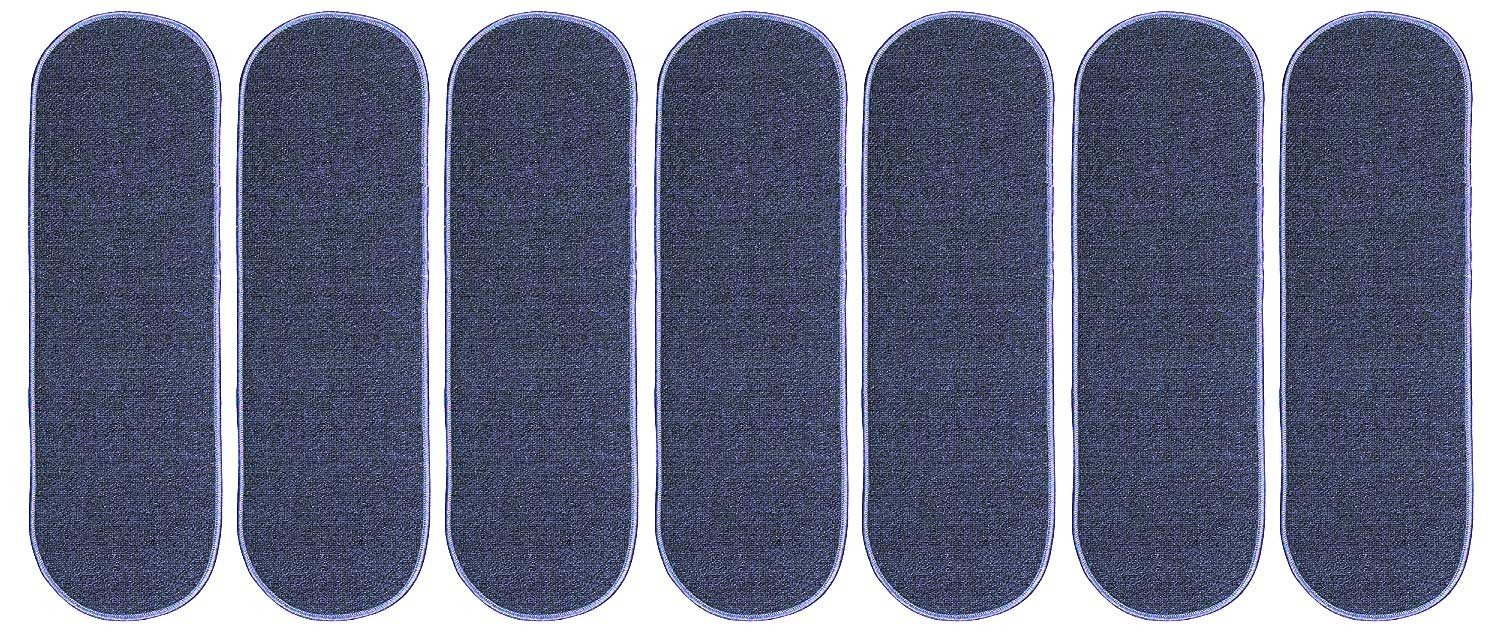 Ambiant Indoor Outdoor StairThreads Violet 9'' x 26'' Oval (set of 7) - Area Rug