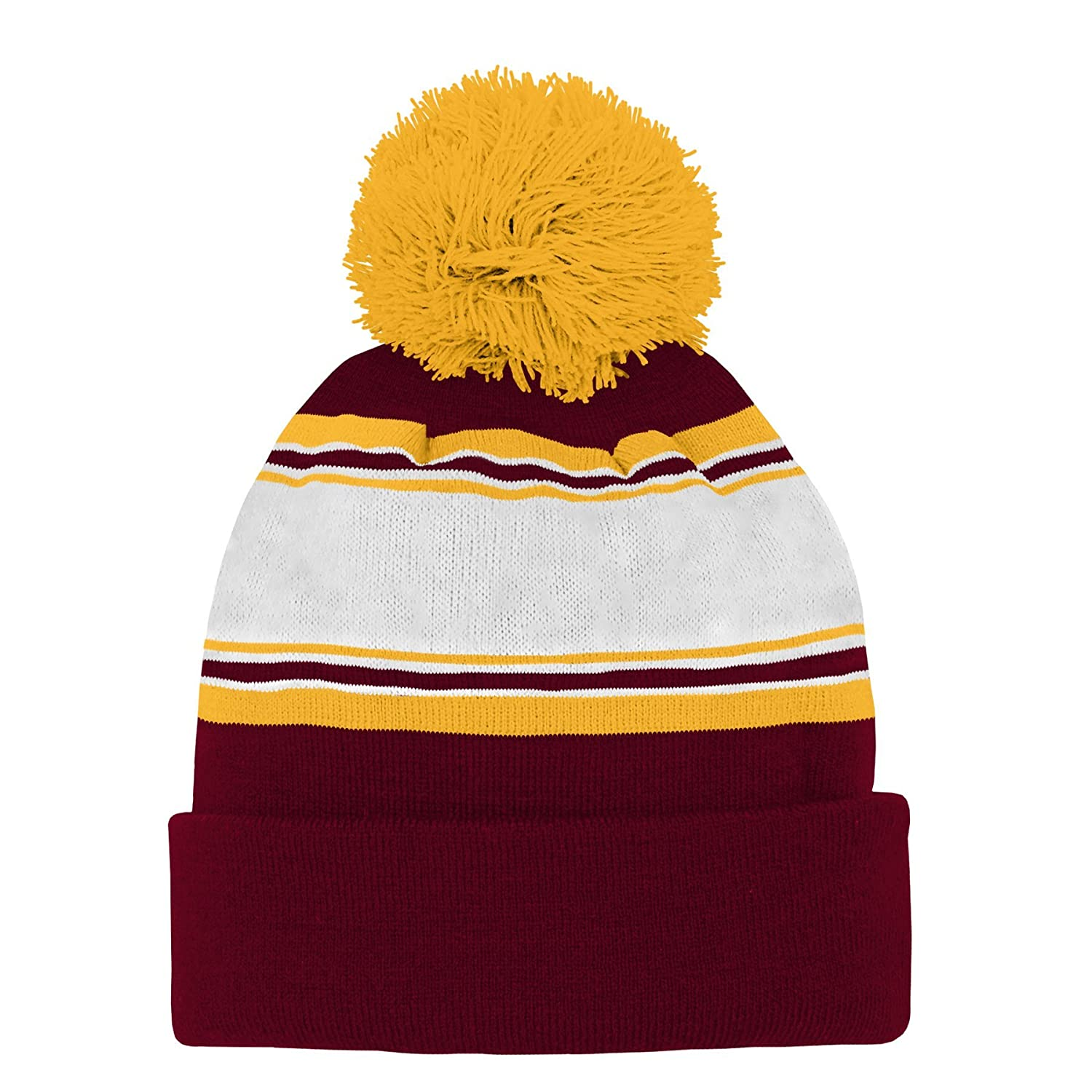 NCAA Arizona State Sun Devils Toddler  Outerstuff Jacquard Tassel Knit Hat w// Pom Team Color Toddler