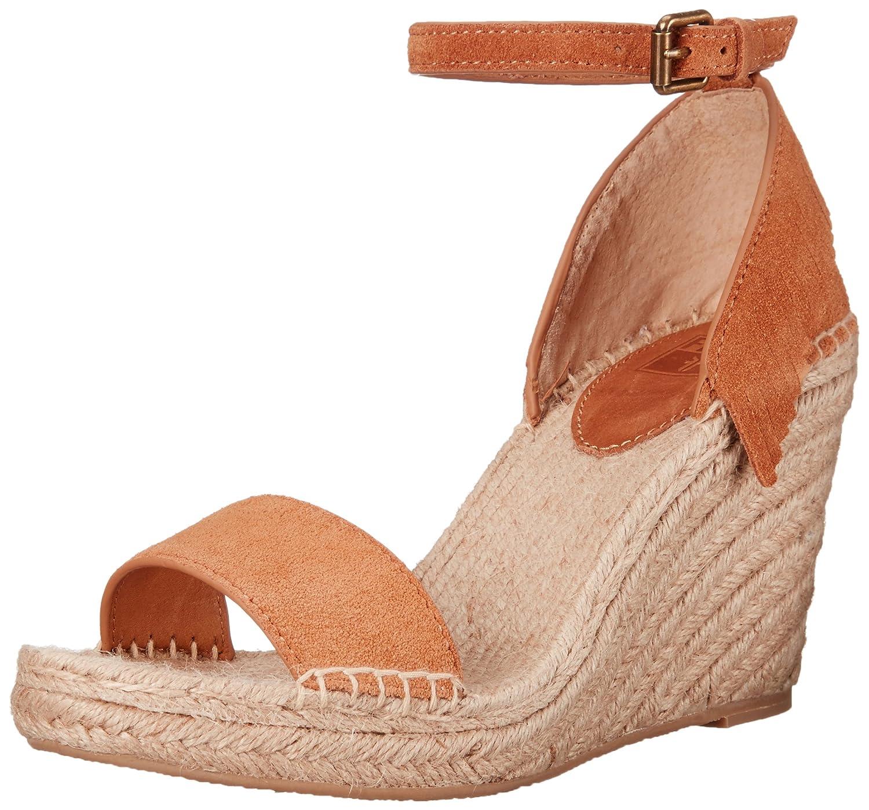 0f3e8f22b2c FRYE Women's Lila Feather Espadrille Wedge Sandal
