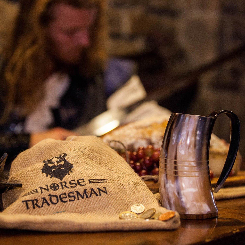 Norse Tradesman Genuine Viking Drinking Horn Tankard (4, The Eternal) by Norse Tradesman (Image #5)