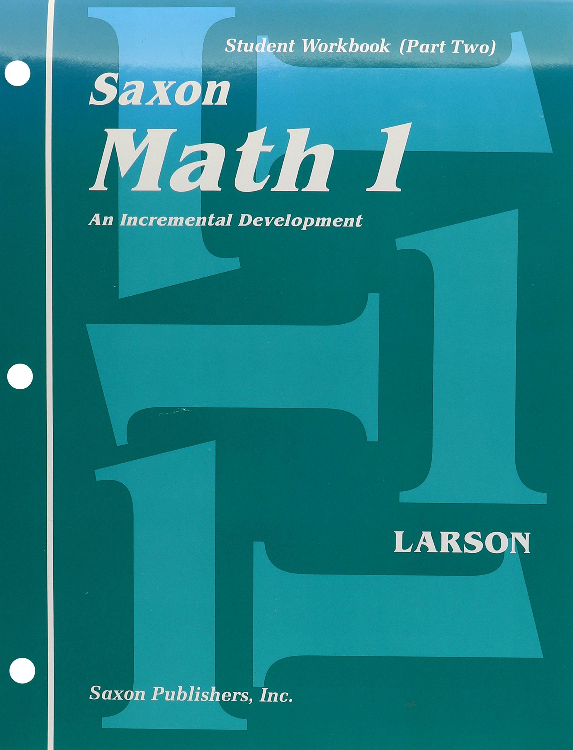 Saxon Math 1: An Incremental Development : Student Workbook (Part ...