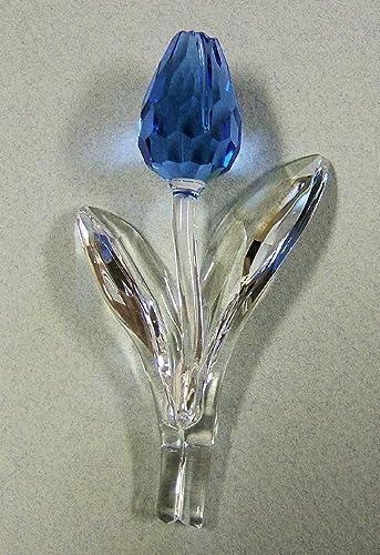Swarovski SCS Blue Tulip 2002 Membership Renewal Piece 606541