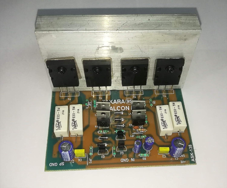 Salcon Electronics HiFi Toshiba Japan 5200 Mosfet Power Mono Subwoofer  Audio Amplifier Kit Board