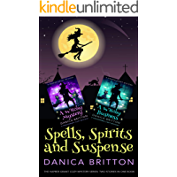 Spells, Spirits and Suspense: Two stories in one book (Harper Grant Cozy Mystery Series)