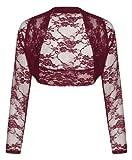 Long Sleeve Cropped Lace Bolero Shrug