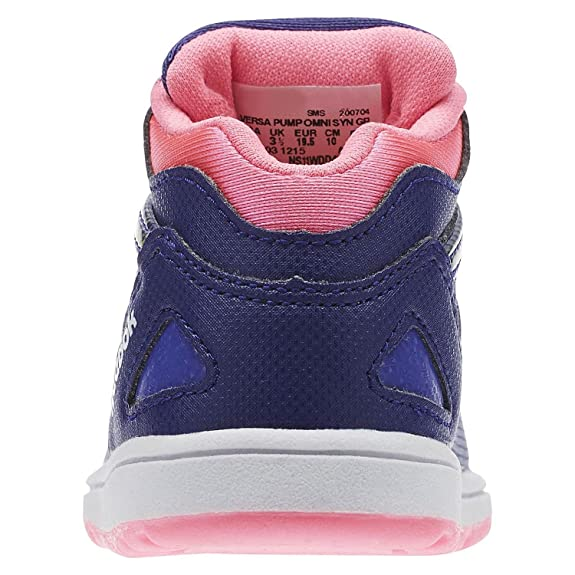 50335ab044e Reebok VERSA PUMP OMNI SYN GP Basket mode fille violet 26.5  Amazon.fr   Chaussures et Sacs