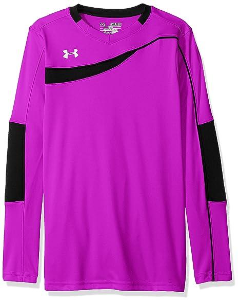 760e9aa4f Amazon.com   Under Armour Boys  Horizontal Goalkeeper Jersey ...