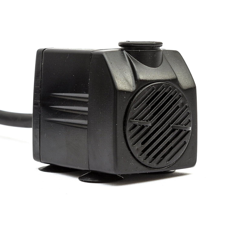 Garden Pond Water Feature Pump 350 Litres Per Hour 4M Cable UK Plug