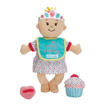 "Manhattan Toy Wee Baby Stella Sweet Scents 12"" Soft Baby Doll and Birthday Set: Toys & Games"