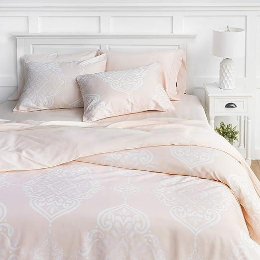 Amazon.com: Welhome Penfold Cotton Tencel Lyocell 3 Piece Duvet