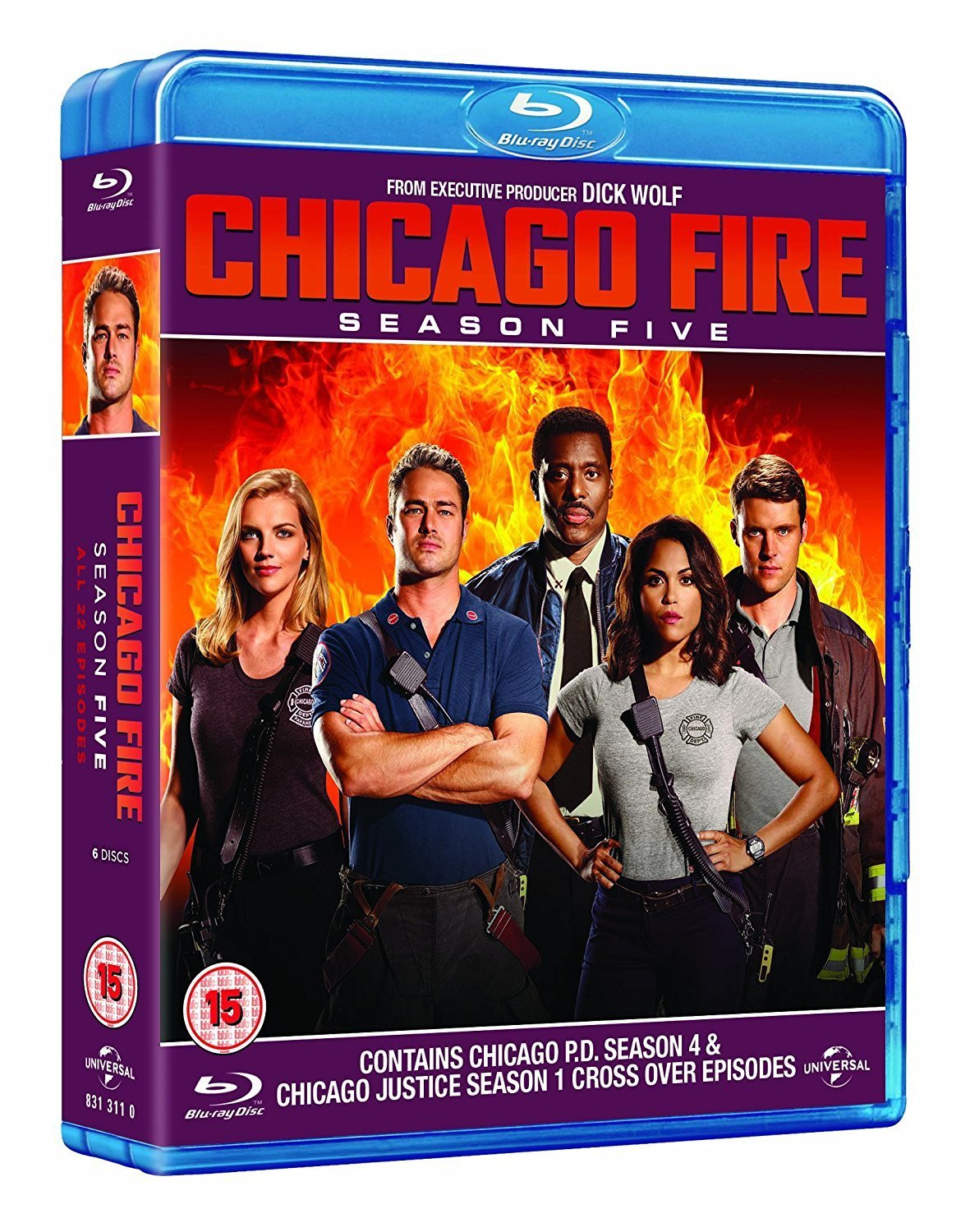 Chicago Fire: Season Five [Blu-ray]
