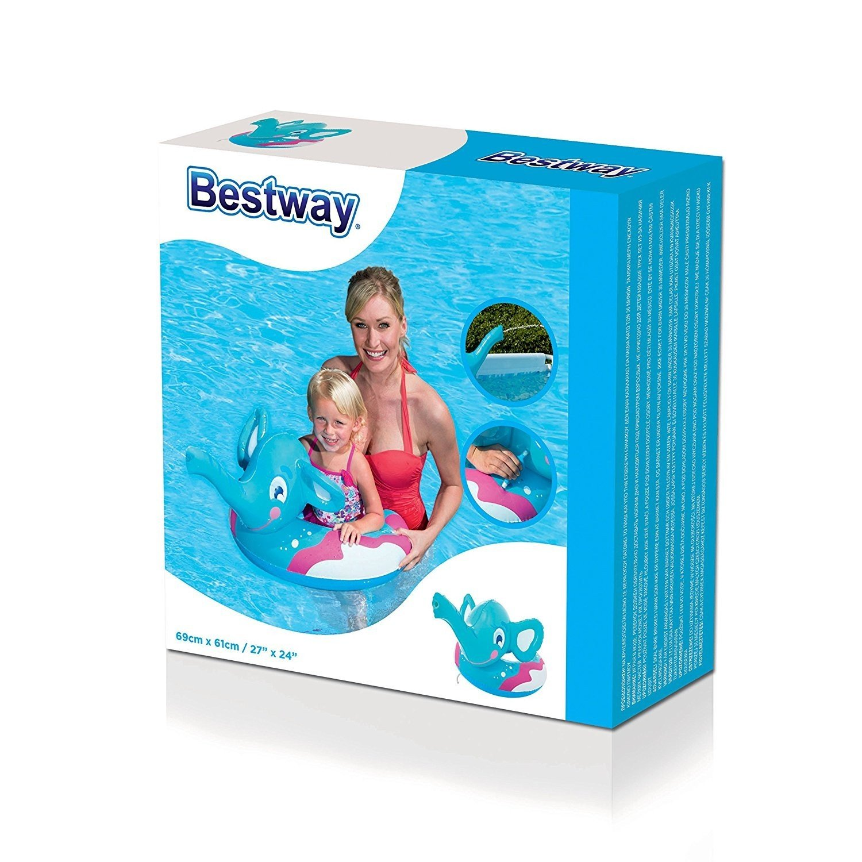 Bestway 36116 Flotador para bebé Vinilo Flotadores para bebé (Flotador, Estampado, Vinilo, 3 año(s), 6 año(s)): Amazon.es: Jardín