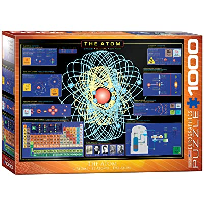 EuroGraphics The Atom 1000 Piece Puzzle: Toys & Games