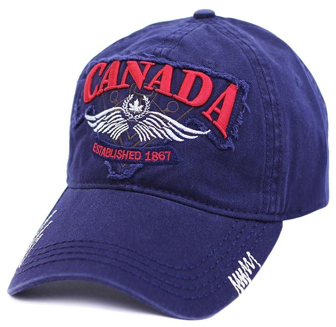 Canada Adjustable Army Pilot Baseball Cap Flex Fix  Amazon.ca ... 172e3f27f9a