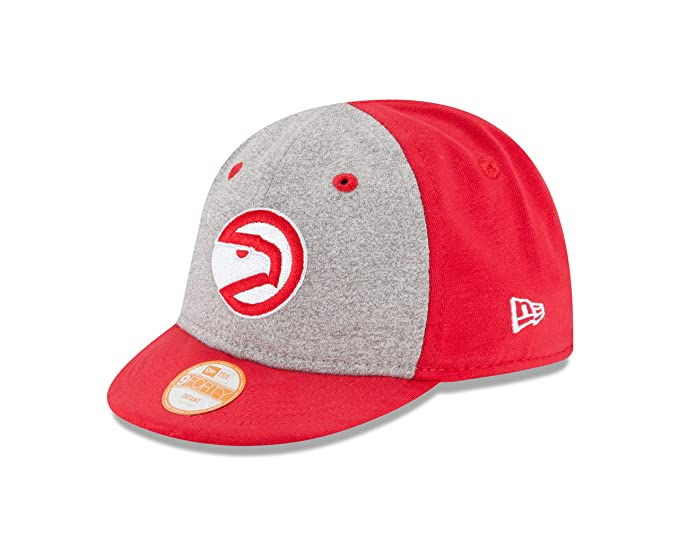 hot sale online 7dd02 ee538 Amazon.com   NBA Atlanta Hawks Kids Heather Tot 940 Adjustable Cap, Infant,  Gray   Clothing