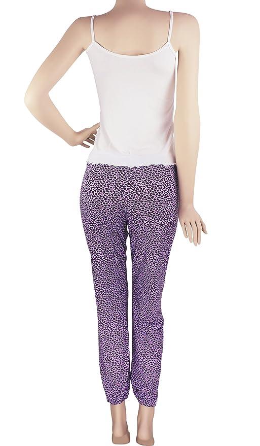 Hipnys Sleepwear Pijamas de Mujer PAT2 Pant & Cami PJ Set Pajama Nightwear Women at Amazon Womens Clothing store: