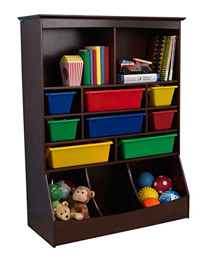 KidKraft Wall Storage Unit   Espresso