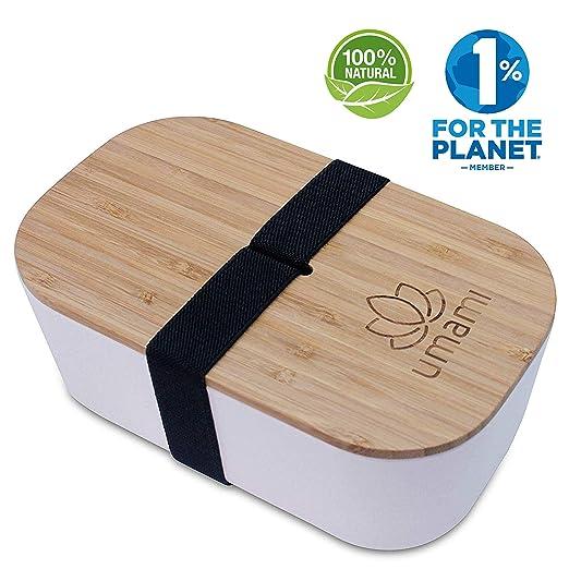 Umami - Fiambrera Eco de Fibra de bambú | Bento 100% ecológico ...
