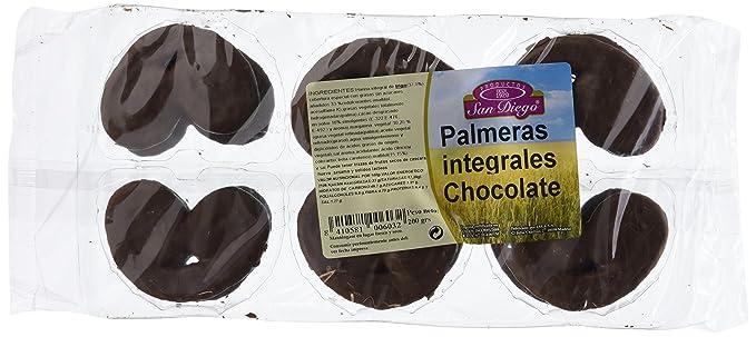 Productos San Diego Palmeras Integrales con Chocolate - Paquete de 12 x 200 gr - Total