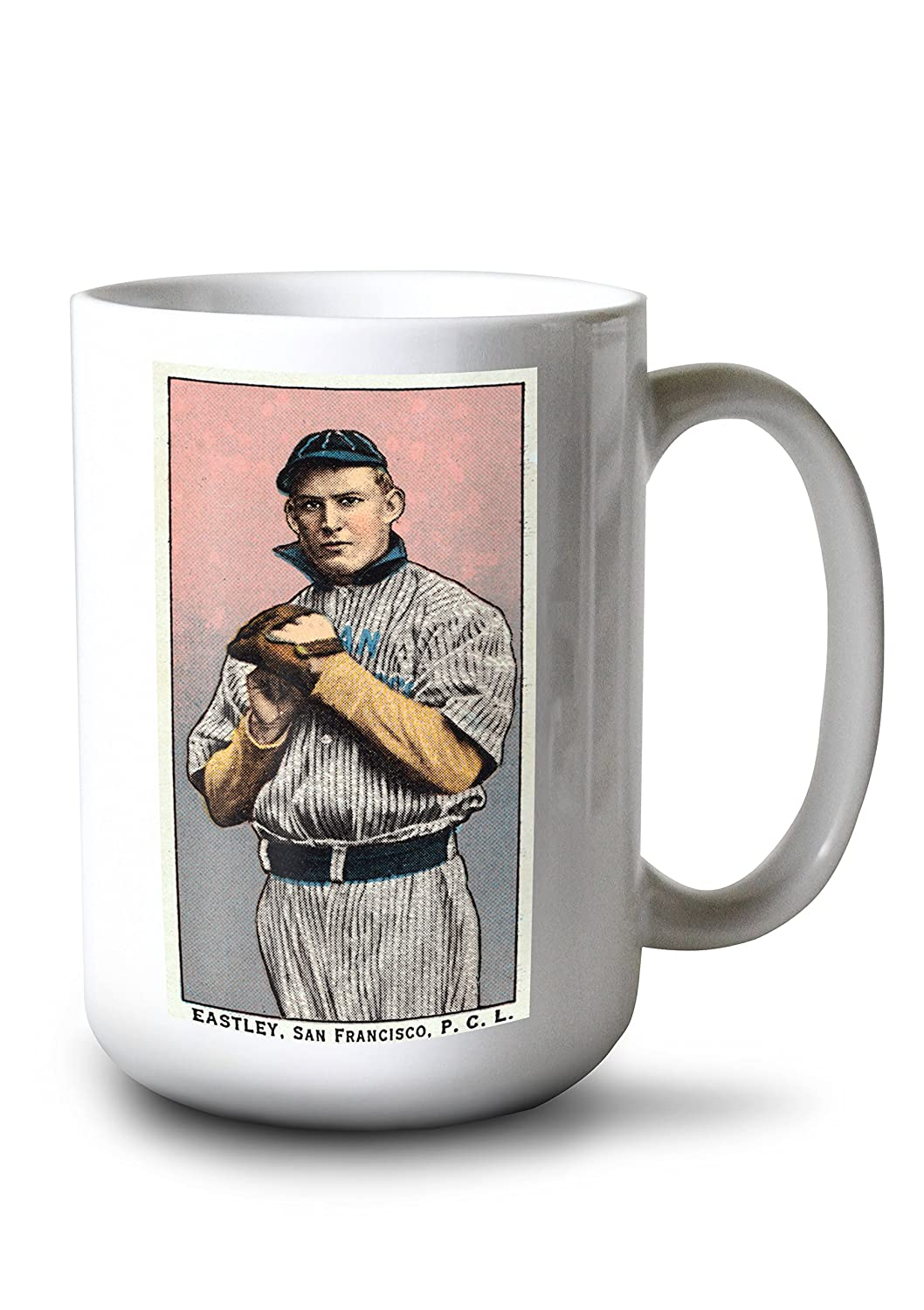 San Francisco Pacific Coast League – Eastley – 野球カード 15oz Mug LANT-3P-15OZ-WHT-23565 B077RS86V7  15oz Mug