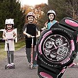 Kids Digital Sport Watch, Boys Girls Waterproof