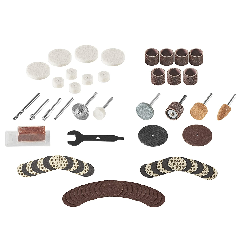 Dremel 707-01 75-Piece Accessory Tin Can Kit