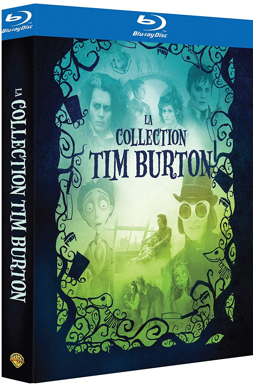 La Collection Tim Burton - Charlie et la chocolaterie + Les noces funèbres + Sweeney Todd + Dark Shadows Francia Blu-ray: Amazon.es: Johnny Depp, Freddie Highmore, Jamie Campbell Bower, Michelle Pfeiffer, Eva