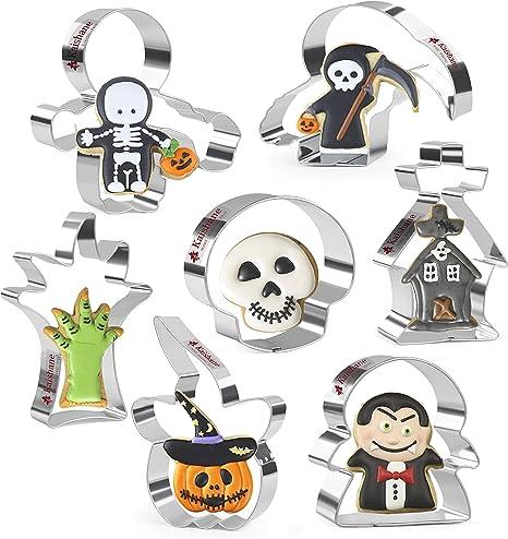 Halloween Cookie Cutter Set Pumpkin Cookie Cutter Haunted House Cookie Cutter