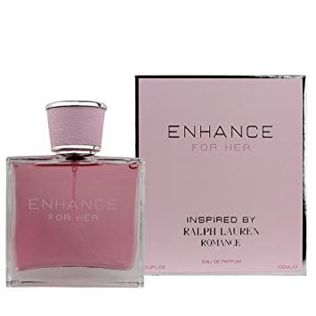 Enhance For Her Eau De Parfum 3.3 Fl.Oz./100 ml - Inspired By RL ROMANCE