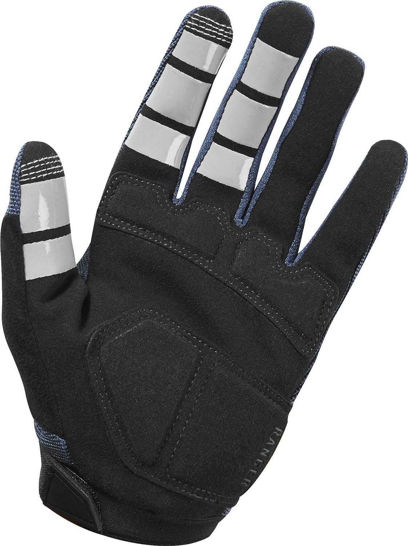 Midnight, XLarge Fox Head Ranger Gel Racing Mountain Bike BMX Gloves