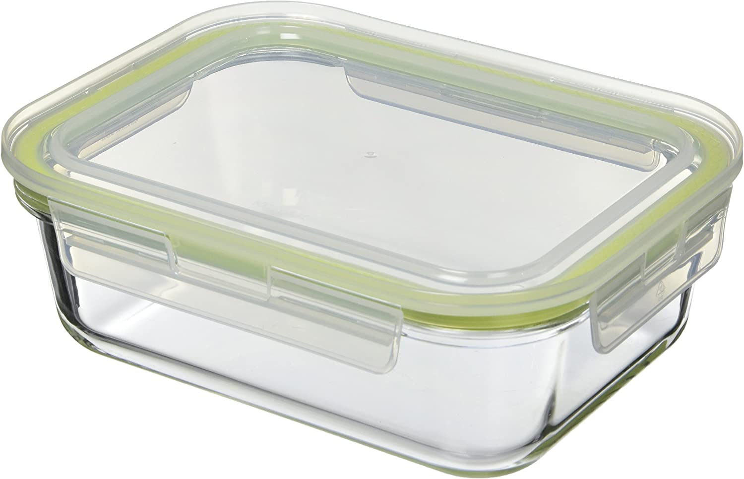 Komax A-1034 Storage Box Rectangular Oven 1520 ml Borosilicate Glass