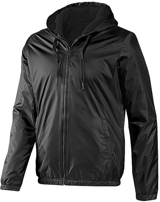 Adidas NEO Reversible Sherpa Herren Windbreaker Wende Jacke schwarz XS   Amazon.de  Sport   Freizeit d71a6d448b